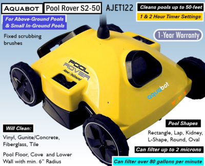 Aquabot Pool Rover s2-50 Reviews