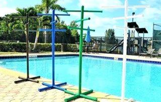 best Swimming pool towel rack