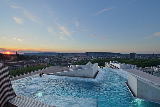 Rooftop Pool — The B2 Boutique Hotel & Spa, Zurich