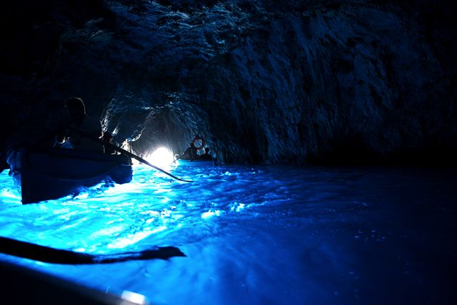 The Blue Grotto, Capri, Italy