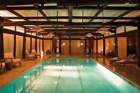 Underground Pool — The Greenwich Hotel, New York