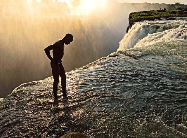 The Devil's Pool, Victoria Falls, Zimbabwe