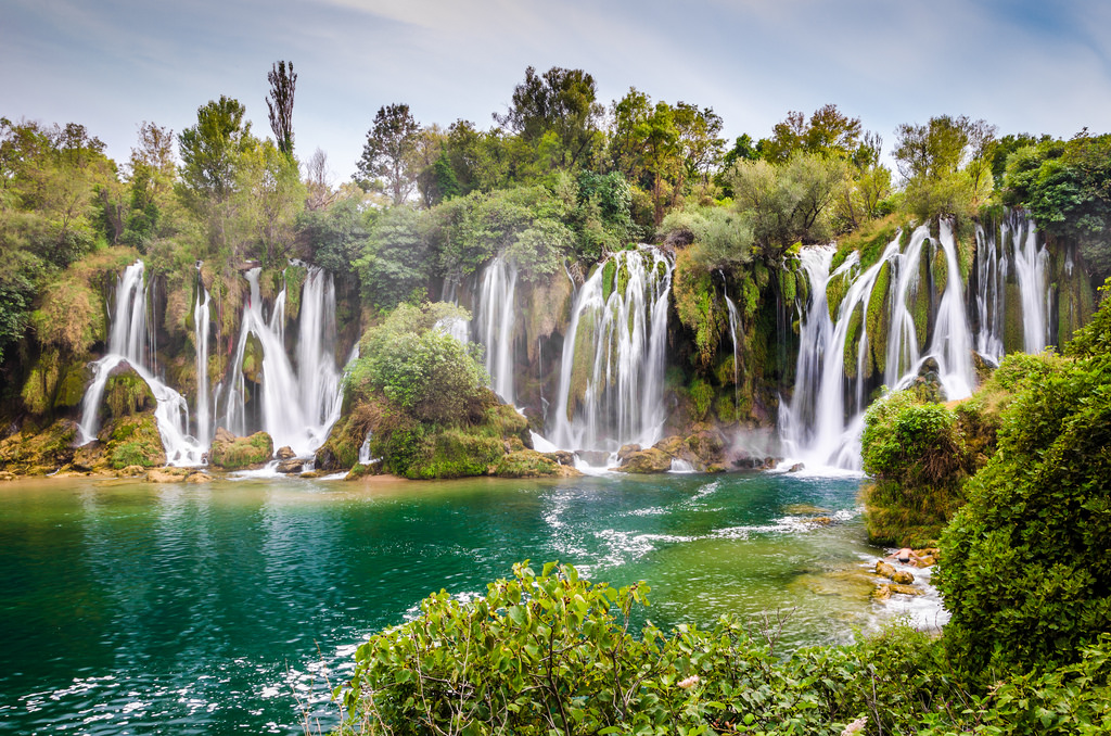 Kravica Waterfalls, Bosnia, and Herzegovina