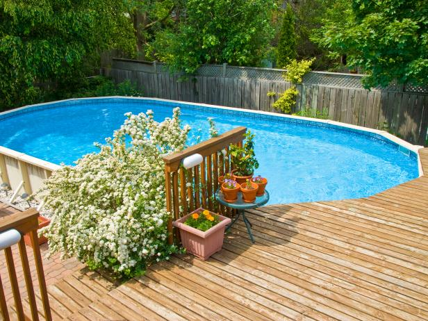Add More Glamour to Your Above – Ground Pool