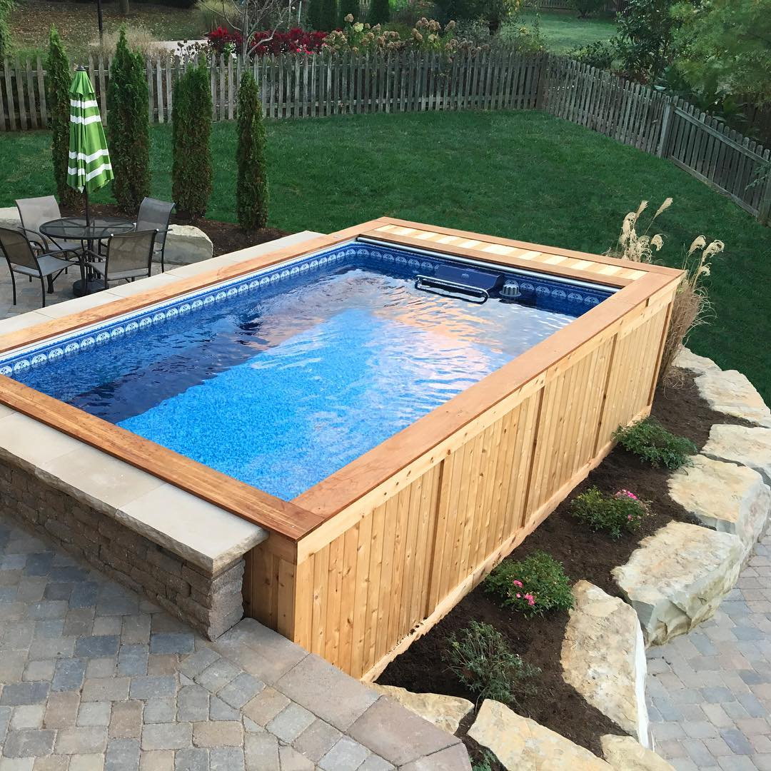 More Glamour to Your Above – Ground Pool