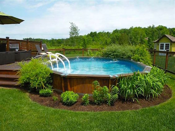 Ways to Add More Glamour to Your Above – Ground Pool