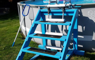 best above ground pool ladder for heavy people