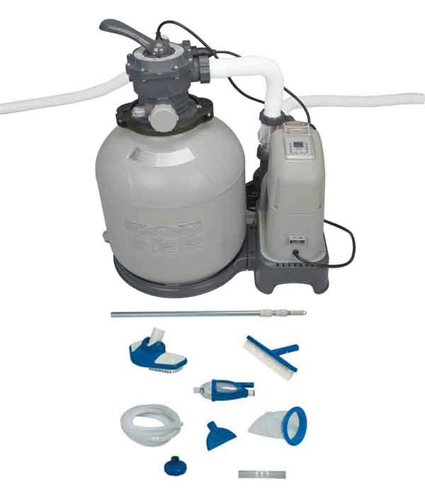 INTEX 2650 GPH Sand Filter Pump & Saltwater System Set Reviews