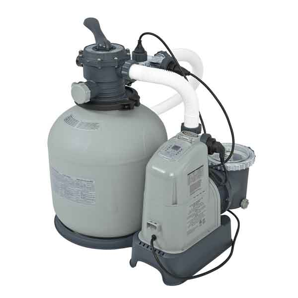 Intex Krystal Clear Sand Filter Pump & Saltwater System