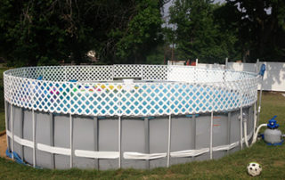 best Above ground pool fence