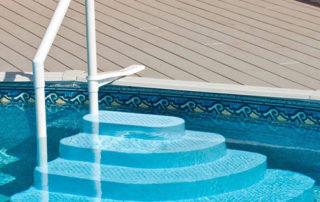 best best above ground pool steps for decks