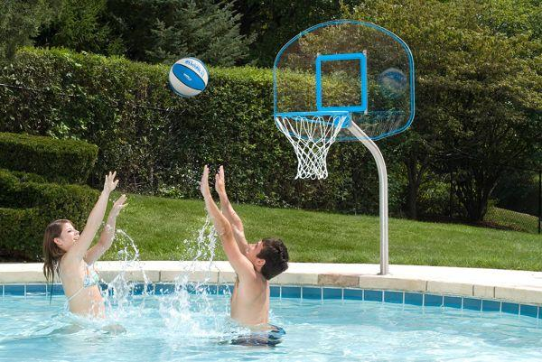 best In Ground Pool Basketball Hoop