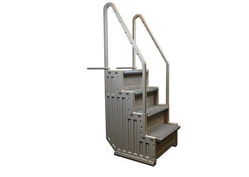 Confer Plastics Access Above Ground Pool Ladders reviews