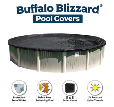 Buffalo Blizzard Deluxe Above-Ground Pool Cover reviews