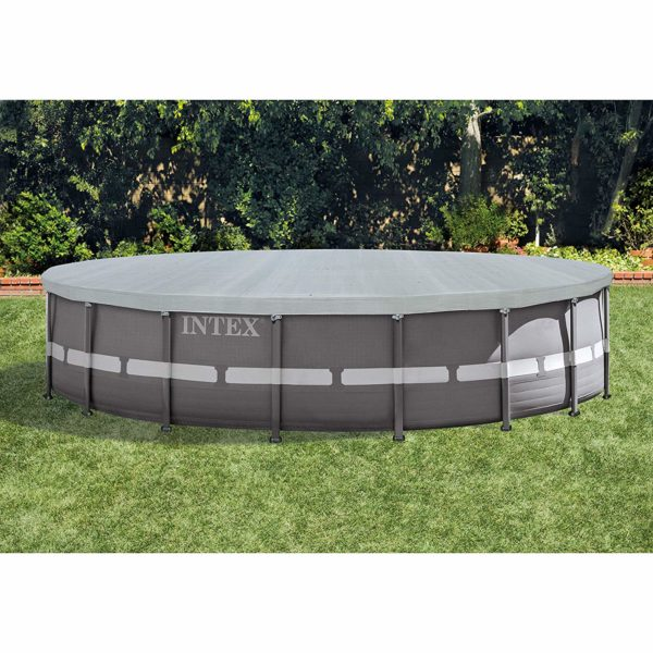 Intex Deluxe 18-Foot Round Pool Cover reviews