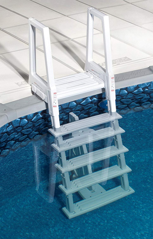 Blue Wave Heavy Duty Above Ground Pool Ladder - White reviews