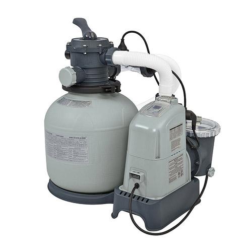 Intex Above Ground Pool 1600 GPH salt water pool pump reviews