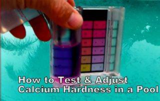 Calcium Hardness Level in Your Pool