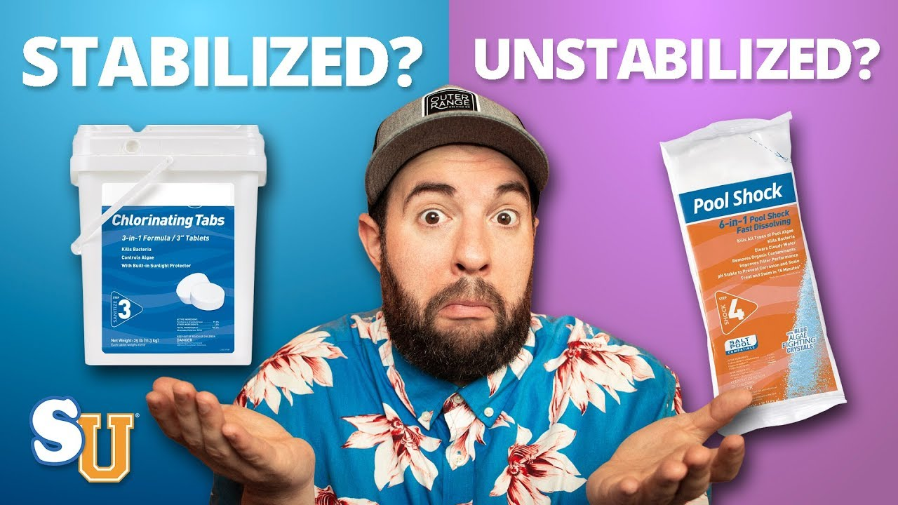 Stabilized And Un-stabilized Chlorine - The Difference
